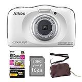 【オプション3点付】ニコン Nikon デジタルカメラ COOLPIX W150 ホワイト 防水 耐衝撃 タフカメラ コンデジ デジカメ クールピクス