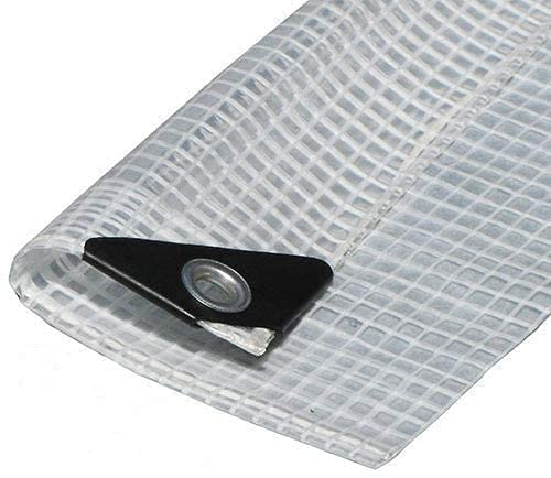 Clear Heavy Duty Sale Special Price See-Through Tarp Directly managed store Mil Fiber Reinforced 14