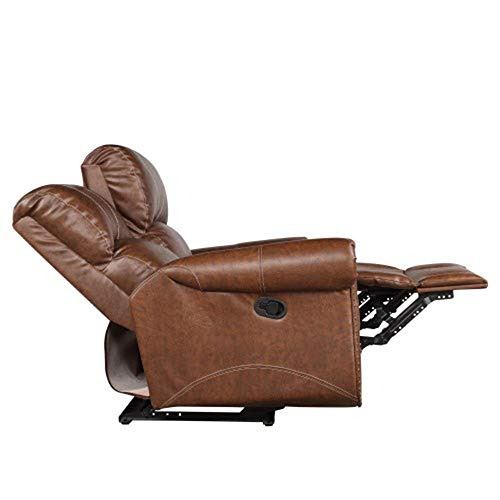 Modern Office Lounge Chair Sessel Sofa Familie PU-Leder Reclining Loveseat Wohnzimmer Lehnstuhl Gliding Loveseat Sofa, Stuhl, Ledersofa, Weich