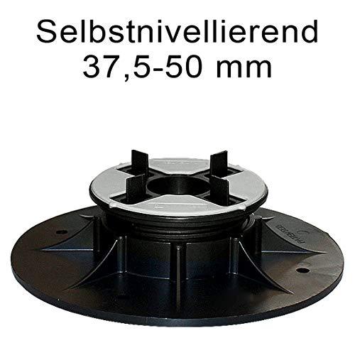 Karl Dahm Stelzlager selbstnivellierend, höhenverstellbar 37,5-50 mm Art. 12529 Bodenplattenverlegung, Terrassenträger, Terrassenlager