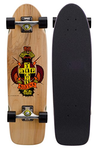 Dogtown – Skateboard Komplettpaket Cruiser Holz OG PC Tailtap – Größe: One Size, ORANGE/RED/Yellow