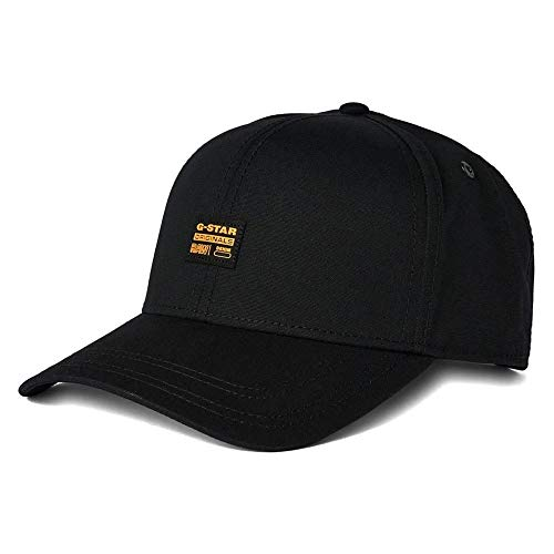 G-STAR RAW Mens Originals Baseball Cap, Black (dk Black C693-6484), One Size