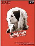 LDLCX Impresiones En Lienzo Le Mepris France Jean-Luc Godard Carteles De Películas Cuadros Artísticos De Pared Decoración Para Sala De Estar K114-L Sin Marco(40Cmx60Cm)