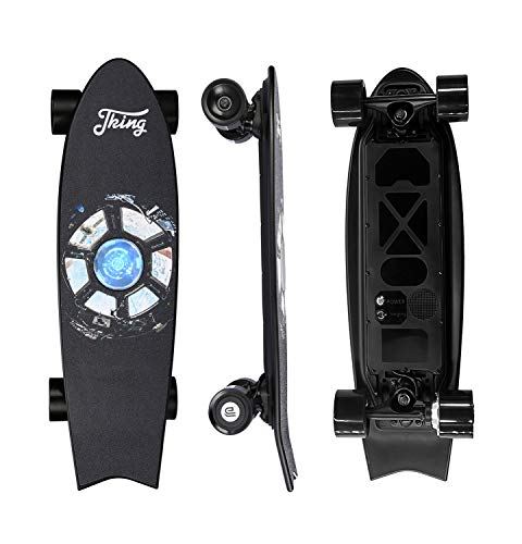 Electric Skateboard Electric Longboard with Remote Control Skateboard ,350W Hub-Motor,15.5 MPH Top Speed