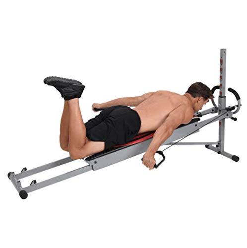 Best Direct Gymform MultiGym Fitnessgerät, komplett, faltbar, für den ganzen Körper, mehr als 100 Übungen