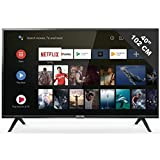 Téléviseur LED Full HD 100 cm TCL 40ES563 - TV LED Full HD 40 pouces - TV connecté / Smart TV - Netflix - Android TV - Tuner TNT terrestre / satellite - Prise casque - Son 2 x 8 W