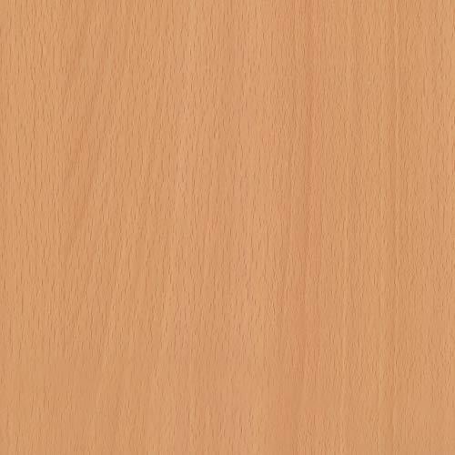 Türfolie selbstklebende - Klebefolie Möbelfolie Dekofolie - Küchenfolie Schrankfolie Tischfolie | Holzfolie - MITTLERE BUCHE CHICAGO | Rolle 90 x 210 cm (3,70 €/m²)