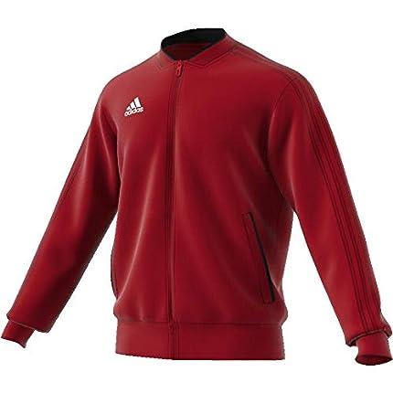 adidas Con18 PES Jkt Chaqueta de Deporte, Hombre, Rojo/Negro/Blanco (Rojo), M