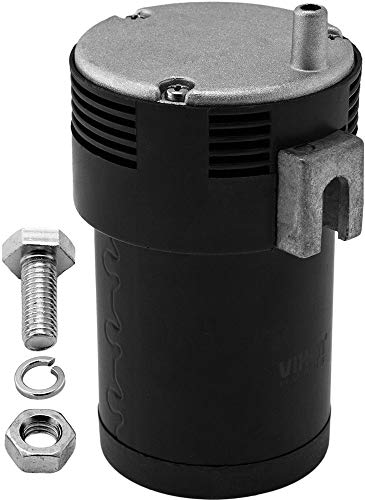 Vixen Horns Mini Onboard Air Compressor 15 PSI. Universal Replacement for Truck/Car Train Horn kit/System Direct Drive.