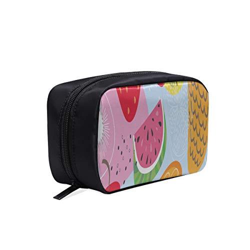 Fashion Wash Bag Fashion Creative Summer Fruit Lemon Fashion Book Sacs For Women Kids Cosmetics Bag Hanging Toiletry Bag Large Cosmetic Bags Multifunction Case Kids Cosmetic Bag