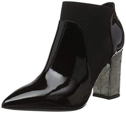 Pollini Shoes, Scarpe da Barca Donna, Nero (Black 00A), 39 EU