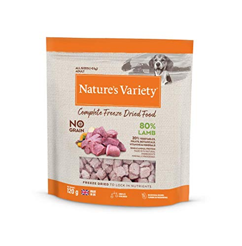 Natures Variety COMPLETE FREEZE DRIED FOOD LAMB 6x120g