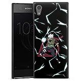 DeinDesign Coque Compatible avec Sony Xperia XA1 Étui Housse Kakashi Naruto Shippuden Produit sous...