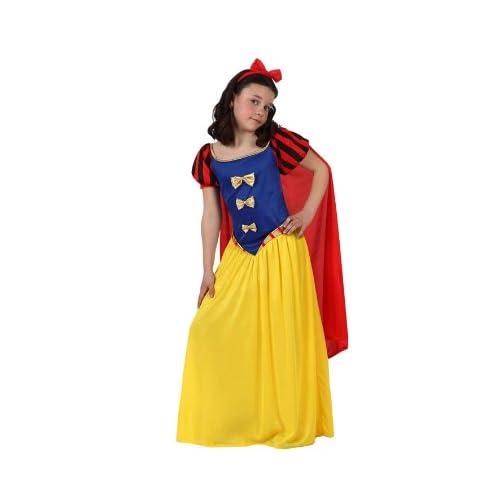 Atosa-10754 Disfraz Princesa de Cuento Color amarillo 7 a 9 años (10754 093c7c54379