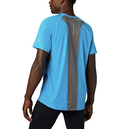 Columbia Titan Ultra II Short Sleeve Men's T-Shirt - Static Blue, Ci, Small