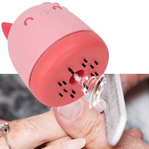 Aspiradora, aspiradora de uñas fácil de observar, para tienda de salón en casa(pink)
