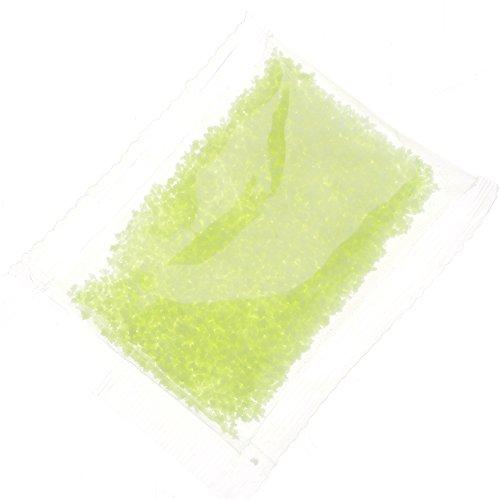 HuntGold 10g Nachtleuchtend Fluoreszierend Sand Leuchtend Partikel Leuchtfarbe Gelb