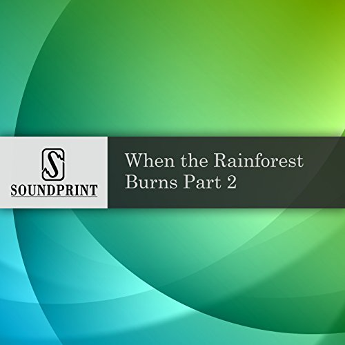 When the Rainforest Burns audiobook cover art