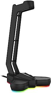 FANTECH Tower RGB, soporte para auriculares para videojuegos, accesorios para PC, color negro