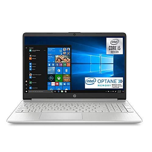 HP- Laptop 15-dy1004la de 15.6″- Core i5- Intel UHD- Memoria 8GB- SSD 256GB+OPTANE 16GB- Plata (Plata)