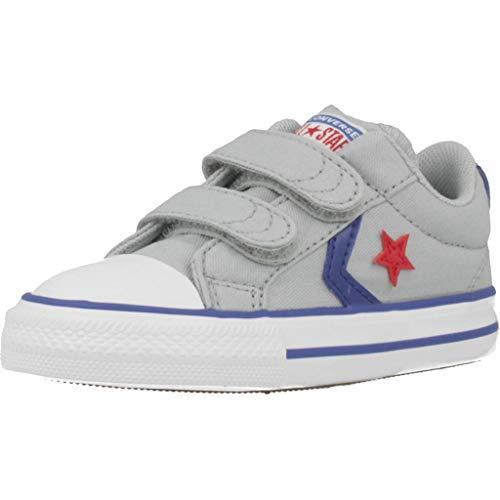 Zapatillas para niño, Color Gris, Marca CONVERSE, Modelo Zapatillas para Niño CONVERSE Star Player 2V OX Gris