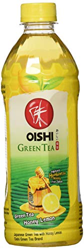 OISHI Grüner Tee Honig Zitrone, 24er Pack (24 x 500 ml)