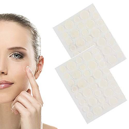 Patch de couverture contre l'acné, hydrocolloïde transparent, correcteurs de bactéries anti-cernes imperméables, ensembles de boutons de guérison rapide pour le corps/le visage (2 set)