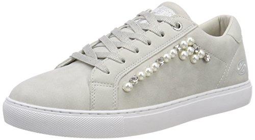 Dockers by Gerli Women's Low-Top Sneaker, Grey Grey 200, 8.5