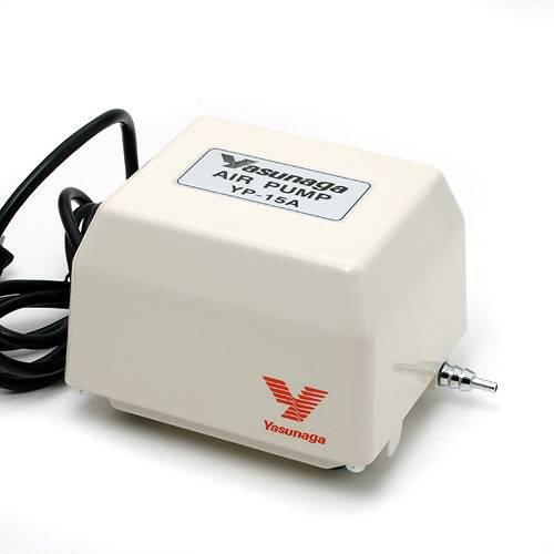 安永電磁式エアーポンプ(ブロワー) YP-15A 120cm以上水槽用エアーポンプ