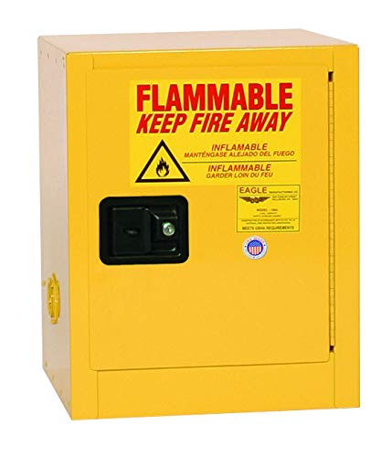 Eagle San Antonio Mall 1904 Safety Cabinet for Direct sale of manufacturer Liquids Flammable 1 Door Manual