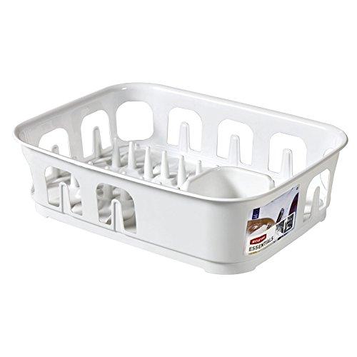 CURVER Geschirrständer Essentials rechteckig in weiß, Plastik, 39.1 x 29 x 10.9 cm
