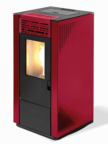 TECTRO - Estufa-De-Pellet-Tectro-Tbh-570-Rojo
