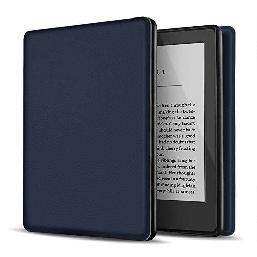 TNP Estuche Nuevo Funda Nuevo para Kindle 10 Generación 2019, Cubierta Ultra Fina y Ligera, Diseño de Sueño Automático, Cierre Magnético, Protección de Caída Golpe Daños Arañazos, Color Azul O