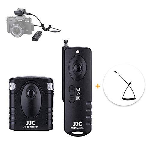 Control remoto inalámbrico con disparador para Fujifilm X-T3 X-T2 X-H1 X-T30 X-T20 X-T100 XF10 X-A5 X100F XF10 X-Pro2 X-E3 X-A5 GFX 50S GFX 50R X100T Reemplaza el cable de liberación Fujifilm RR-100