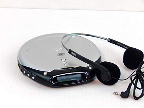 Durabrand Anti-Skip Programmable CD Player - CD-855 - Gray