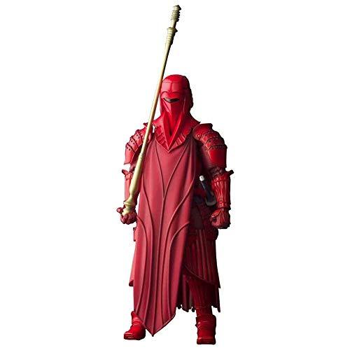QINGQING Figma Star Wars Imperial Red Guardia Reale Figura di Azione da 7 Pollici