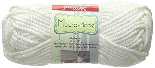 Premier Yarns Macra Made Yarn, White