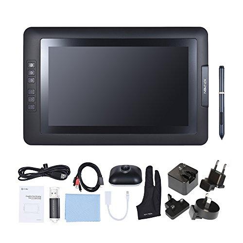Aibecy XP-pen Artist 13.3 1080p HD IPS grafica disegno monitor batteria-free passiva Pen Tablet display 2048 livello di pressione tipo-C USB per Windows Mac