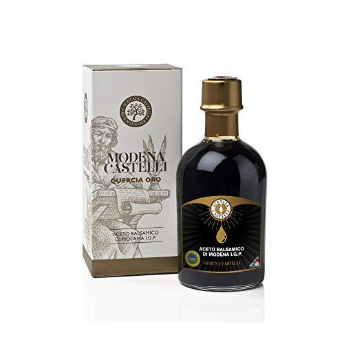 Aceto Balsamico di Modena I.G.P. Quercia Oro Acetaia Castelli 250ml.