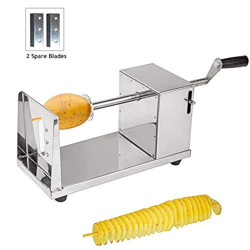 Potato, acero inoxidable, Kartoffel Spiralschneider, Kartoffelschneider