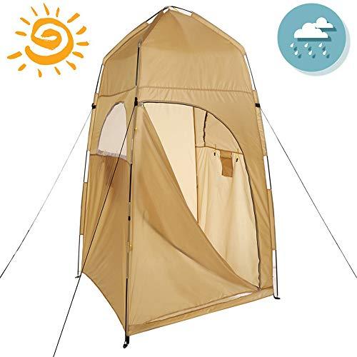 Duschzelt Im Freien Tragbares Tolite-Klo Für Camping Aufklappbare Regenhütte Aufklappbares Zelt Wasserdichtes Fischerzelt Aufklappbare Außenzelte Für Erwachsene