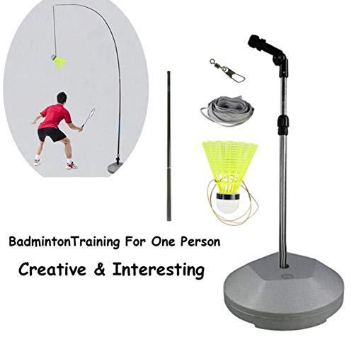 shewt Badminton-Trainer, Solo-Gerätetraining, Selbststudium Rebound Power Base für Sport-Badminton-Lerner