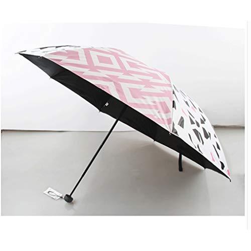 SBSNH Paraguas Plegable For Señoras (Color : Pink)