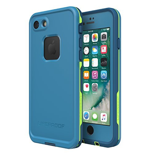 Lifeproof FRĒ SERIES Waterproof Case for iPhone 8 & 7 (ONLY) - Retail Packaging - BANZAI (COWABUNGA/WAVE CRASH/LONGBOARD)