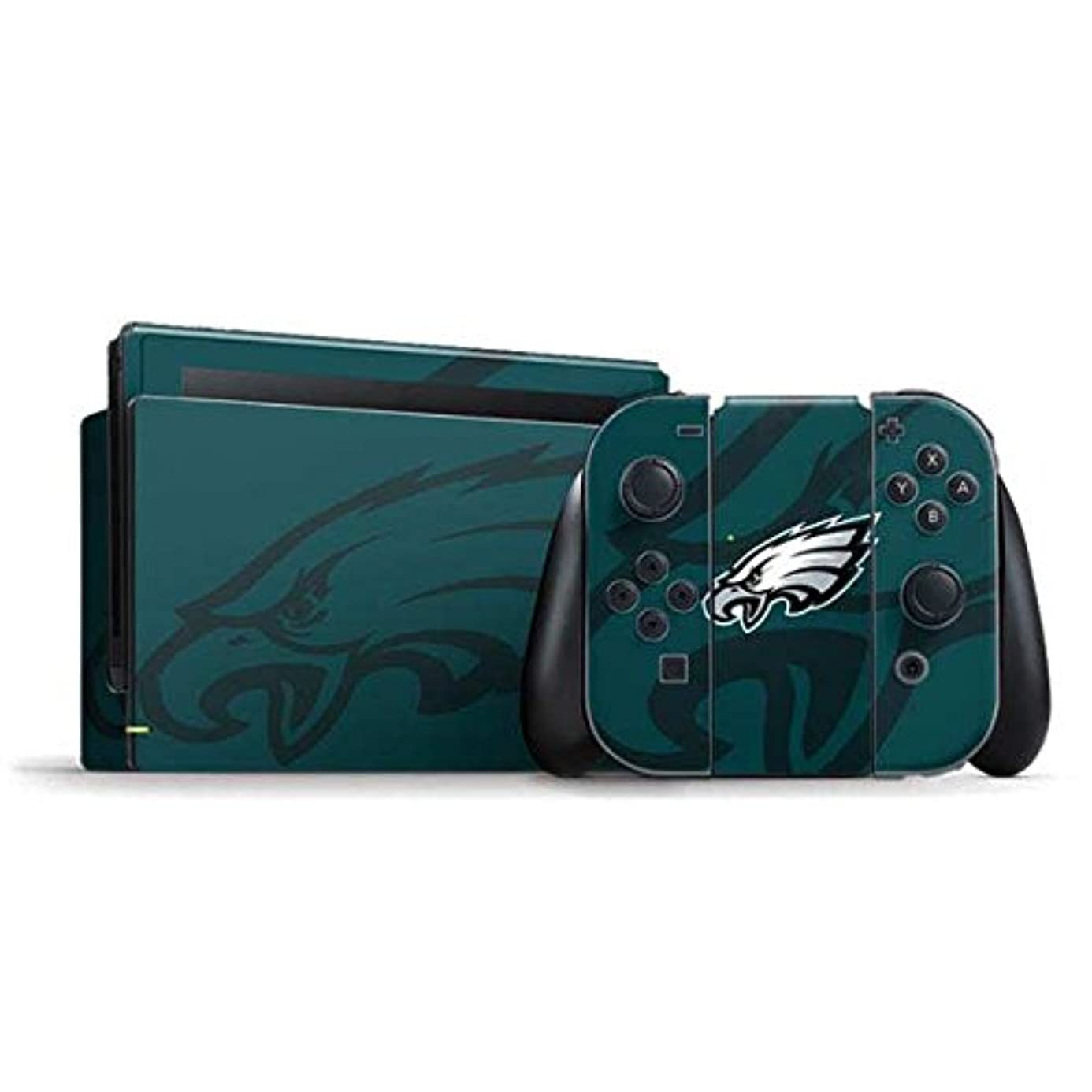 NFL Philadelphia Eagles Nintendo Switch Bundle Skin - Philadelphia Eagles Double Vision Vinyl Decal Skin For Your Switch Bundle