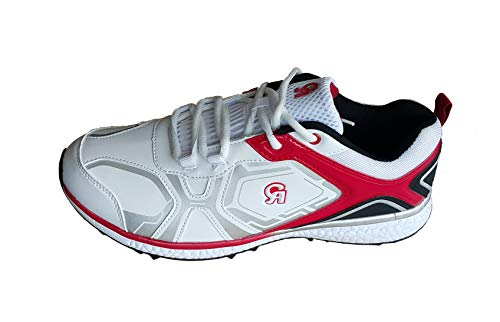 CA 7K Red White Cricket Shoes (EU-Size 42)