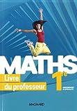 Maths 1re Enseignement de spécialité - Livre du professeur