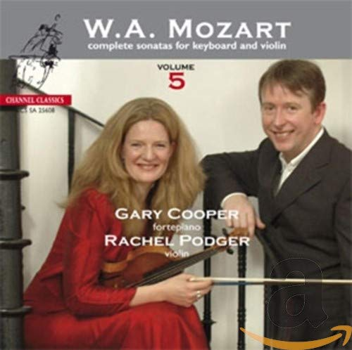 Mozart: Complete Sonatas for Keyboard and Violin Vol.5