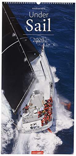 Under Sail XL. Wandkalender 2020. Monatskalendarium. Spiralbindung. Format 33 x 68 cm