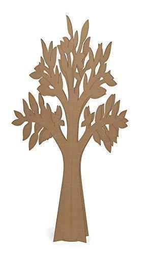 Olmo Árbol de Vida en Cartón Habana Alto 120cm Preparación Matrimonio